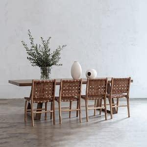 Scandinavian Dining Suite Setting