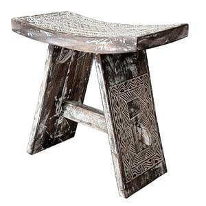 Irian Jaya Carved Stool