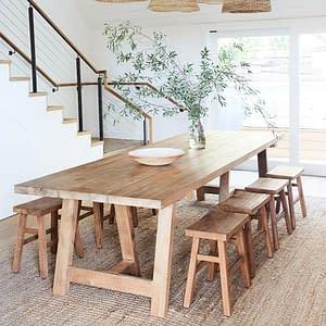 Rustic Teak Furniture Bali Balinese