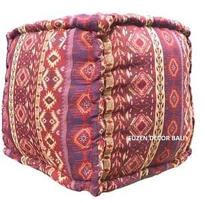 Bali Ethnic Pouff
