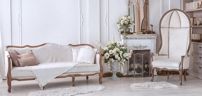 Indonesia French Provincial Chairs, Sofa, Tables, Accent, Beds