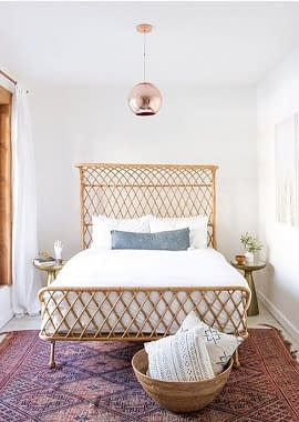 Balinese Rattan Bed