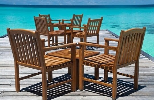 Indonesia Teak Dining Tables and Chairs
