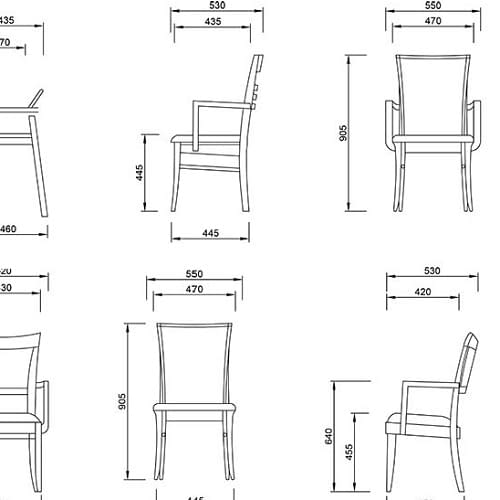 Technical Drawings Furniture