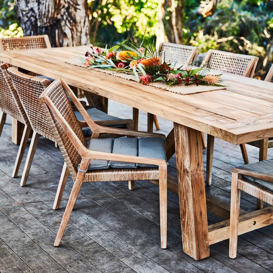 Indonesian Recycled Teak Outdoor Furniture