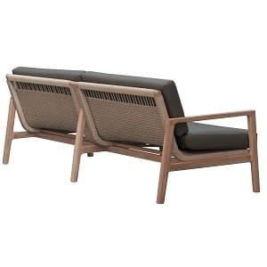 Bali Outdoor Teak Sofa Large