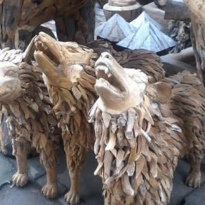 Bali Teak Root Animals Suppliers Wholesale
