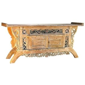 Bali Antique Balinese Sideboard