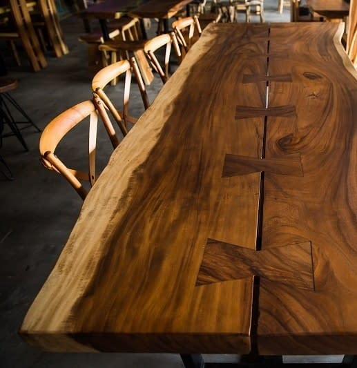 Suar Slab Dining Tables Bali