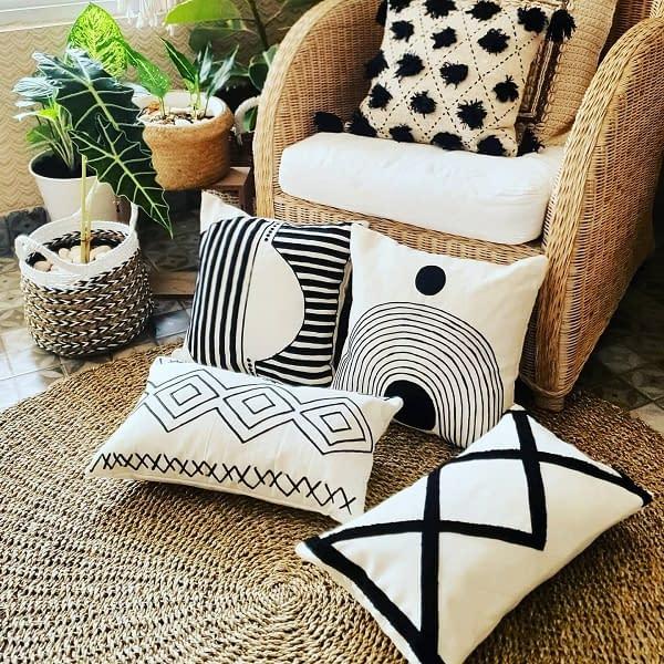 Bali cushions, Textiles, Rugs