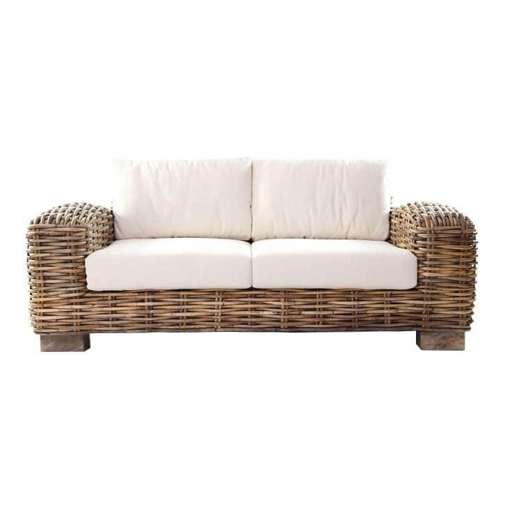 Bali Rattan Sofa