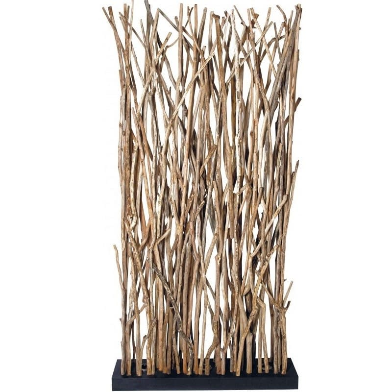 Bali Natural Twig Floor Lamp