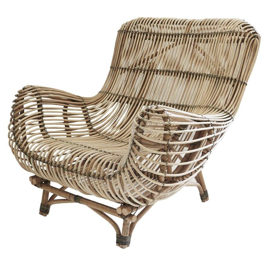 Retro Rattan Occasional Chair | Bali Furniture ...