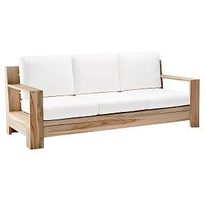 Bali Teak Sofa, Lounge, Outdoor