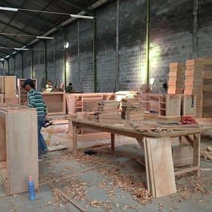 Indonesia Factory Lamination department