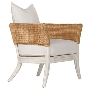 Boho Rattan Occasional Chair
