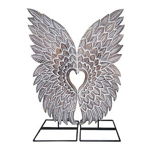 Bali Wood Angel Wings