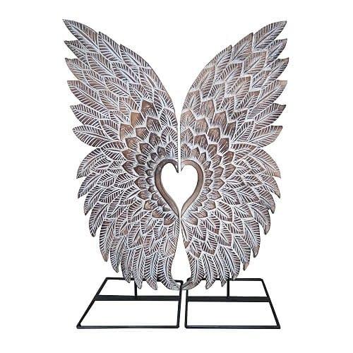 Bali Wood Angel Wings
