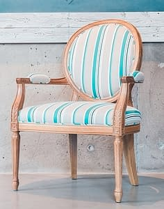 Boho French Provincial Furniture Chairs