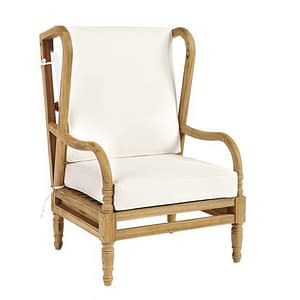 Bali Boho Outdoor Teak Chair