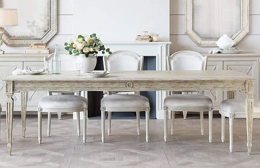 Reproduction Dining Suites French Provincial