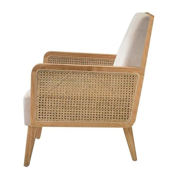 Bali Teak and Rattan Chair