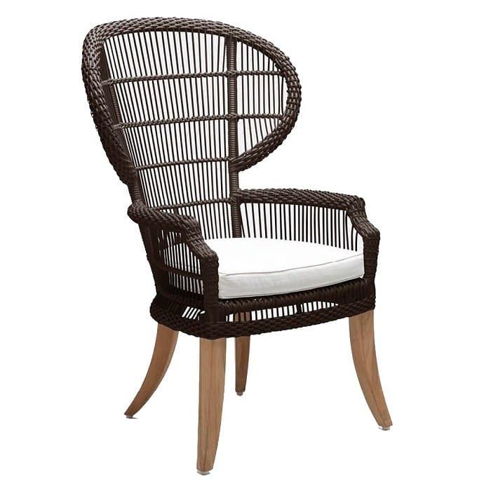 Outdoor Queen Peacock Chair Large