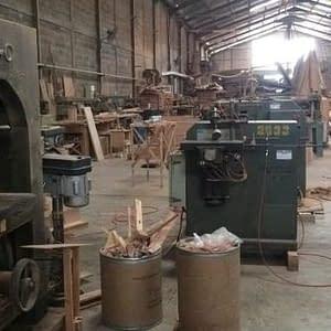 Indonesian Factory Machinary Furniture