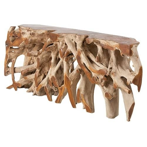 Bali Teak Root Console Table