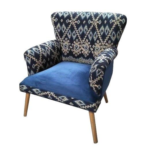 Hand Loomed Ikat Chair