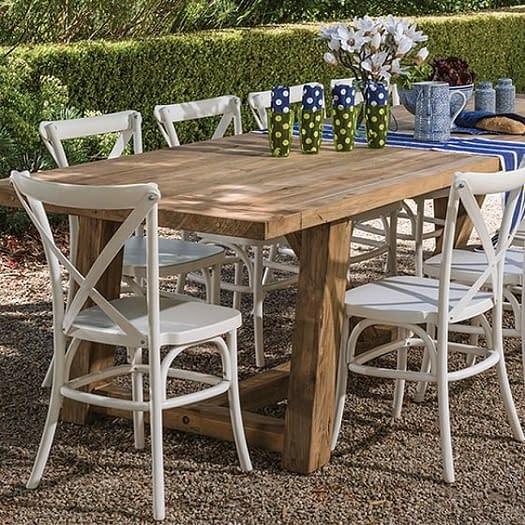 Reclaimed Outdoor furniture Teak