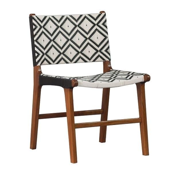 Resin Teak Chair